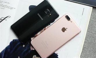iPhone 7、Note 7实际速度对比